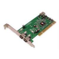 Siig, Inc. Firewire Adapter - Plug-in Card - Pci - Ieee 1394 Firewire