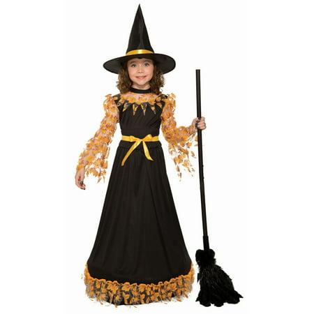 Halloween Autumn Witch Child - Autumn Witch Costume