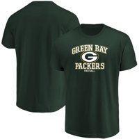 Men's Majestic Green Green Bay Packers Greatness T-Shirt