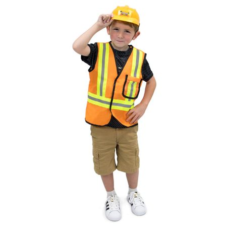 Construction Worker Costume For Kids (Construction Worker Childrens Costume, Age)