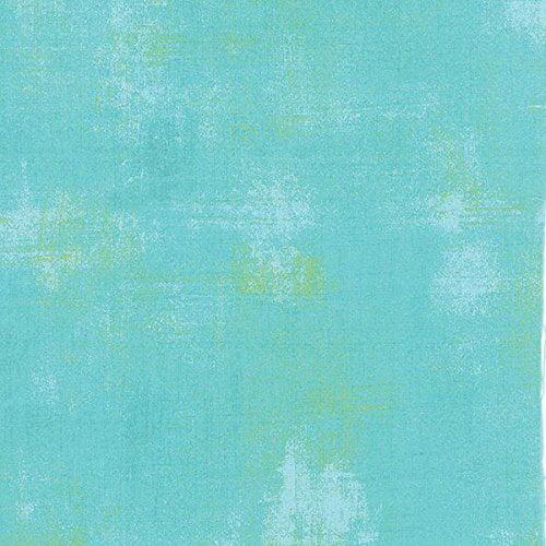 Moda Fabrics Basic Grey Grunge Basics Pool Blue 31050-226 Cotton Fabric