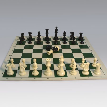 Tournament Chess Set with Vinyl Board (Best Chess App Android 2019)
