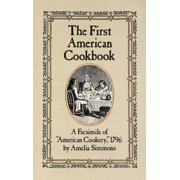 The First American Cookbook (Paperback)