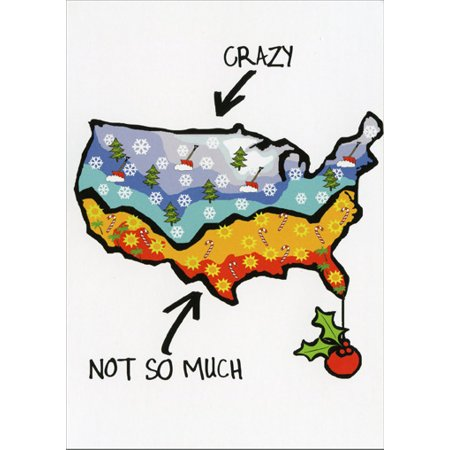Recycled Paper Greetings Crazy Cool Christmas Warm Weather Christmas Card ()