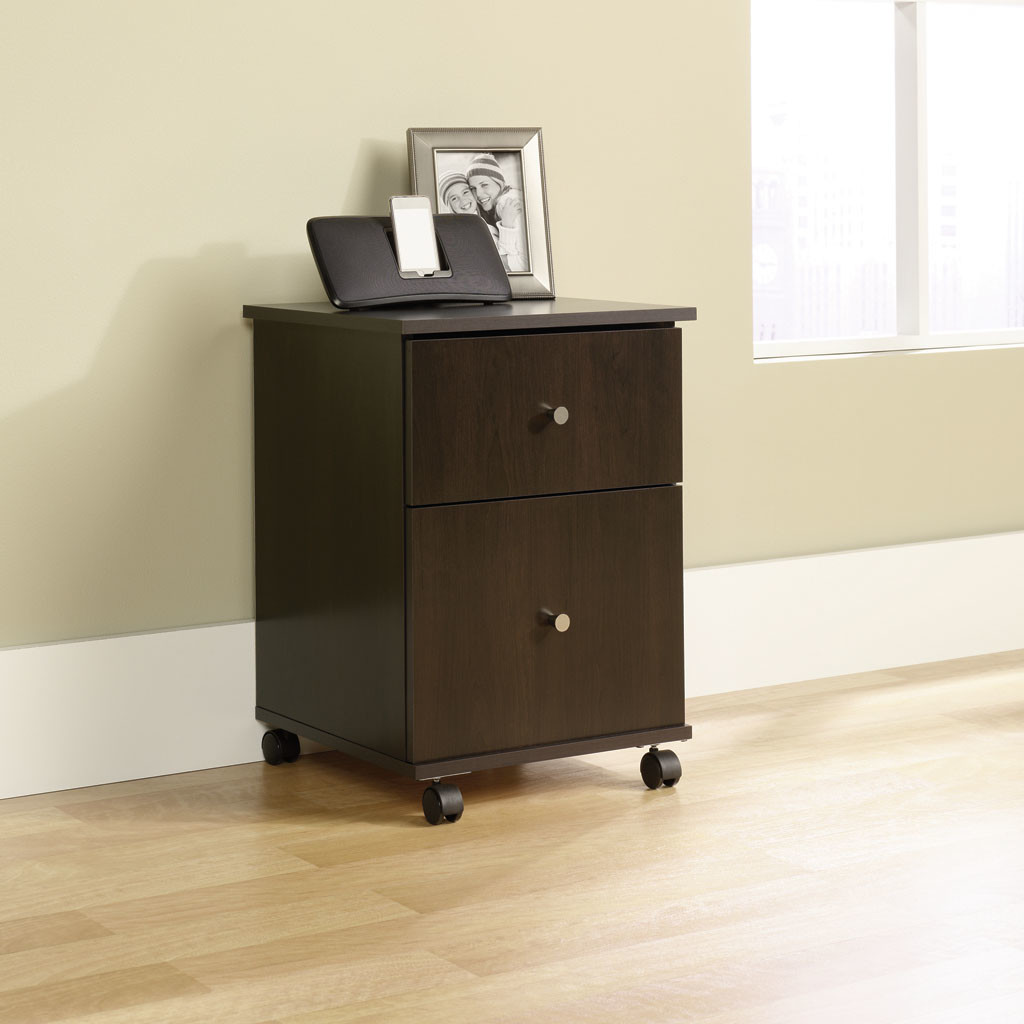 Nice Sauder Mobile File Cabinet   Cherry   Walmart.com