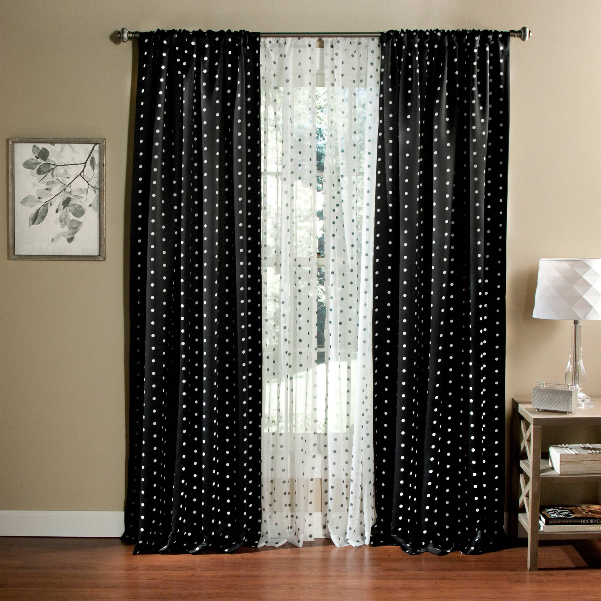Black and white curtains - Black And White Curtains 4