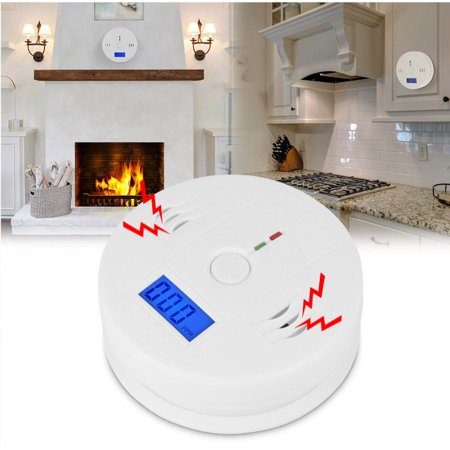 LCD CO Carbon Monoxide Poisoning Sensor Alarm Warning (Perimeter Sensor)