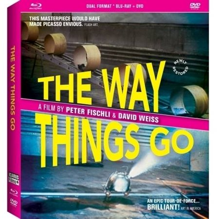 The Way Things Go  Blu Ray   Dvd