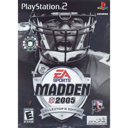Madden 2005 Collector's Edition - PS2 (Halloween 3 Collector's Edition)