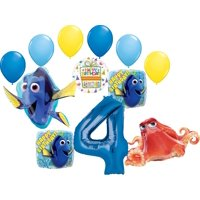 Finding Dory Party Supplies 4th Birthday Balloon Bouquet Decorations