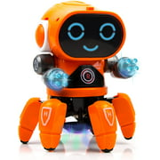 Toysery Bot Robot Pioneer with Colorful Lights and Music   Kids Moving Multifunctional Play Robot Toy for Boys Girls, Best Gift Idea