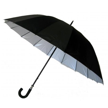 Conch Umbrellas 7516 60 inch Jumbo Doorman Umbrella With 16 Ribs And Also Sun Rated Fabric ()