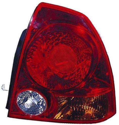 Go-Parts » 2003 - 2006 Hyundai Accent Rear Tail Light Lamp Assembly / Lens / Cover - Right (Passenger) Side - (4 Door; Sedan) 92402-25520 HY2801122 Replacement For Hyundai Accent