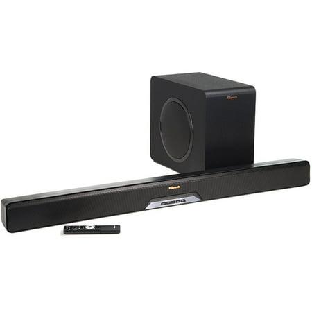 Klipsch Reference RSB-11 2.1 Soundbar System with Wireless Subwoofer - Black
