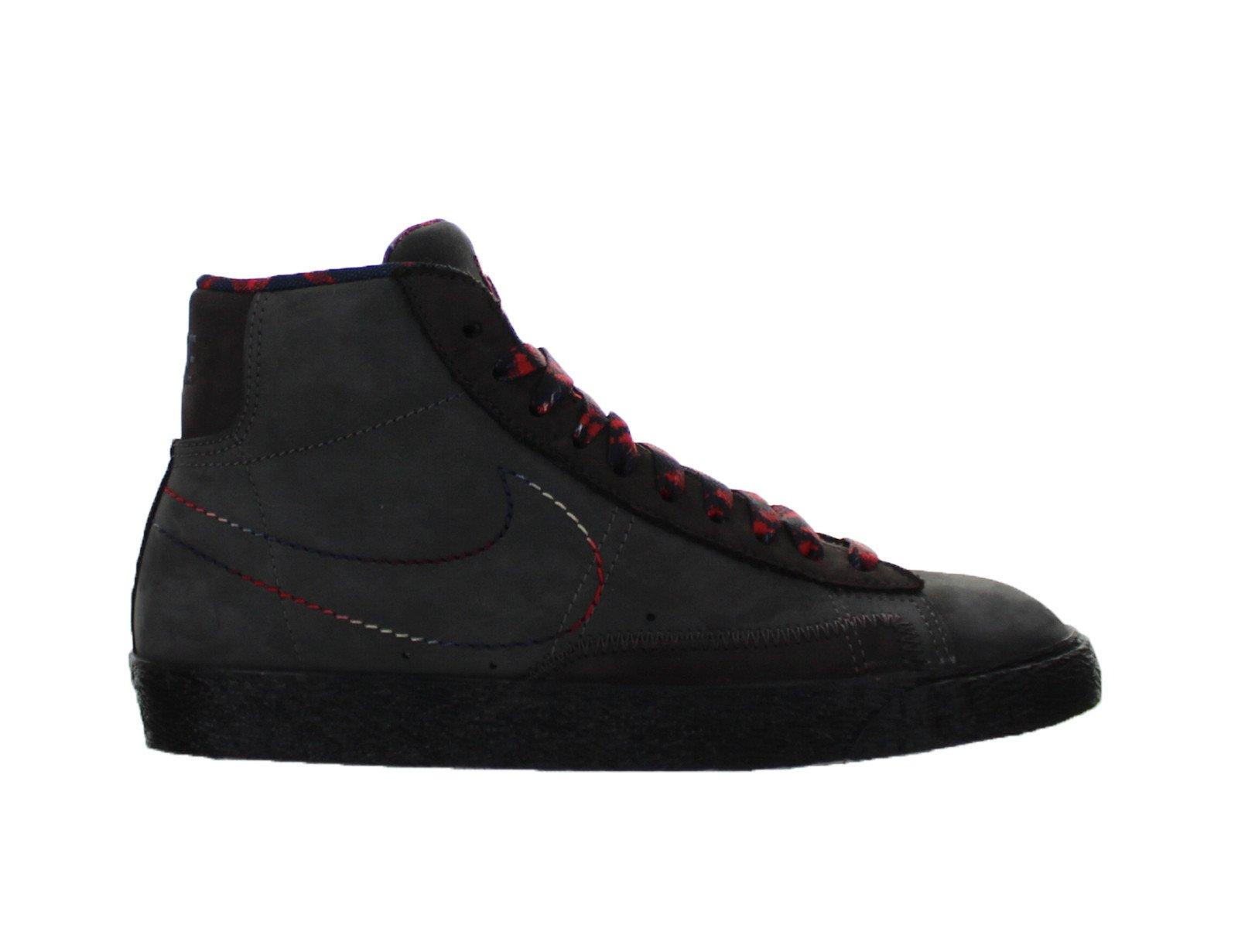 Womens Nike Blazer Mid Black History Month Midnight Fog Black 521300 ... 60f7eaa0a