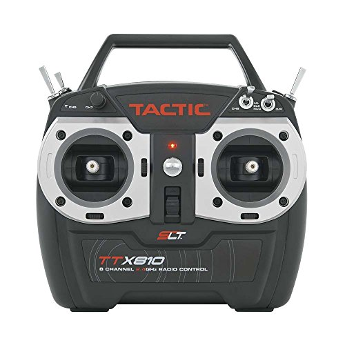 TACTIC TTX810 8Ch 2.4GHz SLT Tx No Servos Mode 2 Multi-Colored
