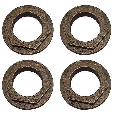 4 PK Hex Flange Bushing For MTD 941-0656A 741-0656A