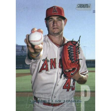 2018 Topps Stadium Club #19 Garrett Richards Los Angeles Angels Baseball Card - *GOTBASEBALLCARDS