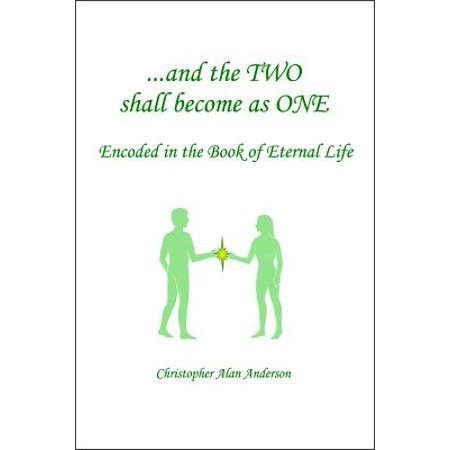 And the TWO shall become as ONE - Encoded in the Book of Eternal Life - (And The Two Shall Become One Aisle Runner)