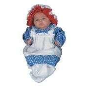 Raggedy Ann Bunting Baby Halloween Costume