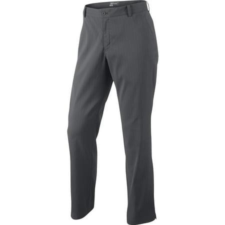 Nike Men's Dri-Fit Stripe Novelty Golf Pants Dark Gray