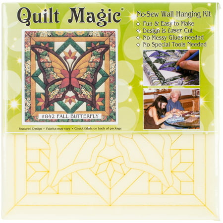 Fall Butterfly Quilt Magic Kit - image 1 of 1