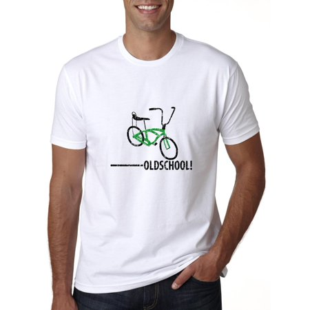 Old School - With Picture of Bicycle Banana Seat Men's T-Shirt