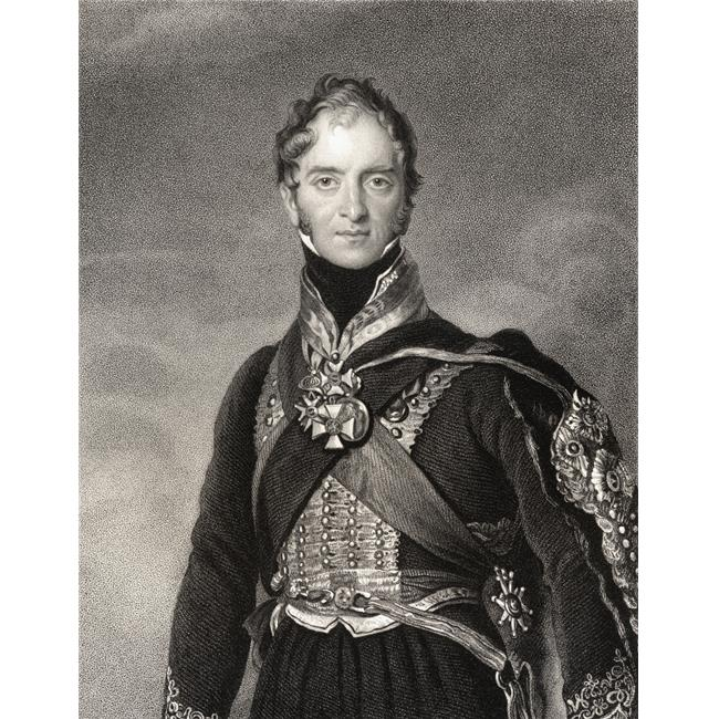 Henry William Paget 1st Marquess of Anglesey Baron Paget of Beaudesert 4th Earl of Uxbridge 1768 to 1854 British Militar Poster Print, 13 x 16 - image 1 de 1