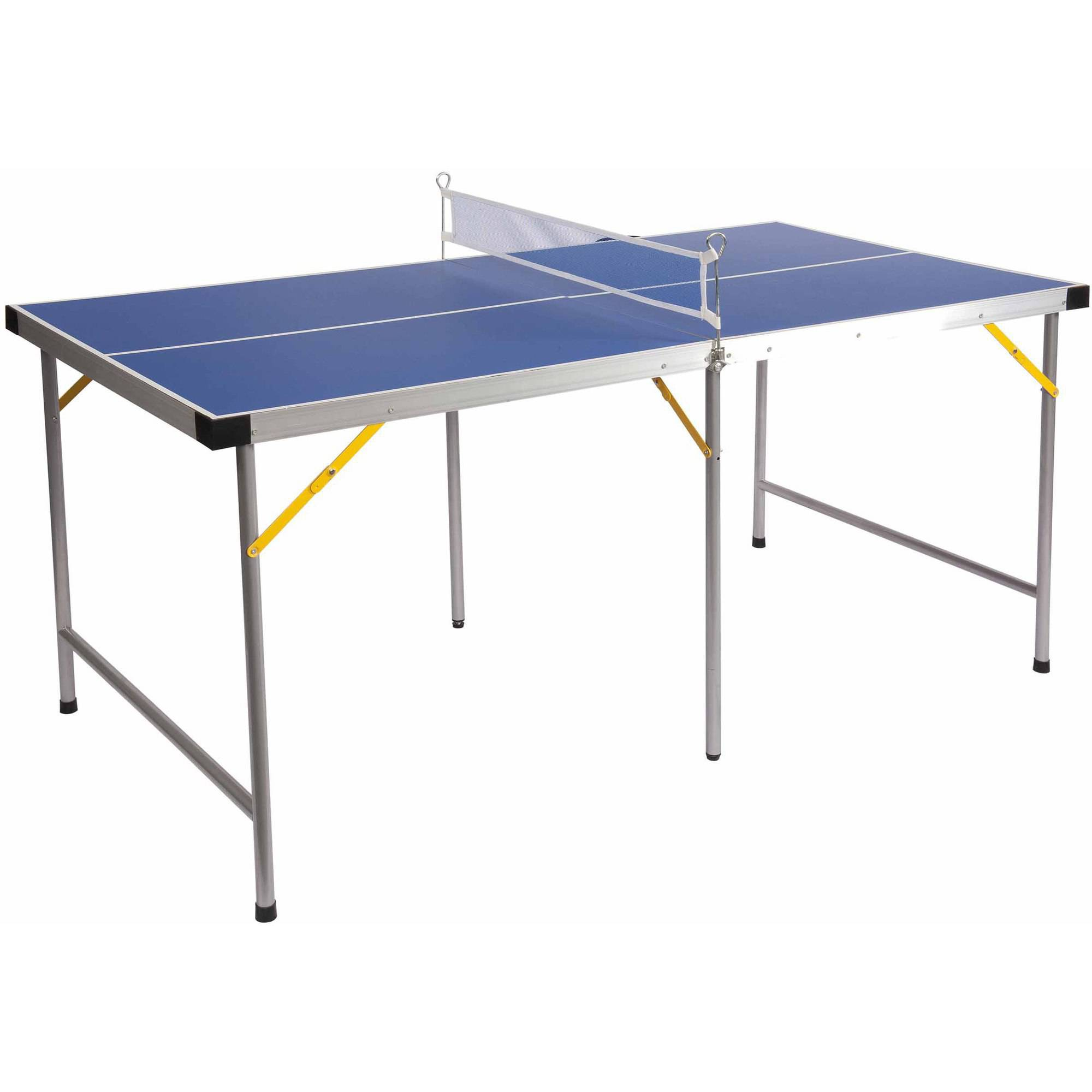 Lion Sports 5u0027 Folding Portable Table Tennis Ping Pong Table