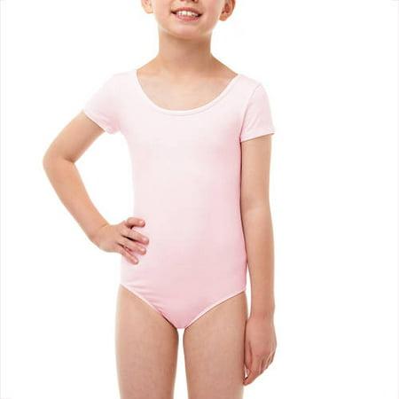 85767b0fe87a Danskin Now - Girls  Short Sleeve Dance Leotard - Walmart.com