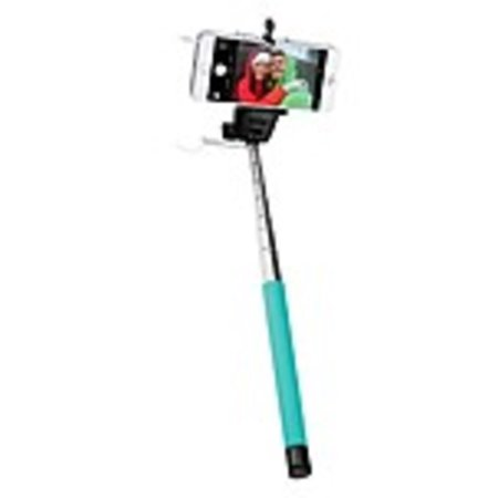 GEMS 813125024673 Extendable Wired Selfie Stick with Remote Shutter ...