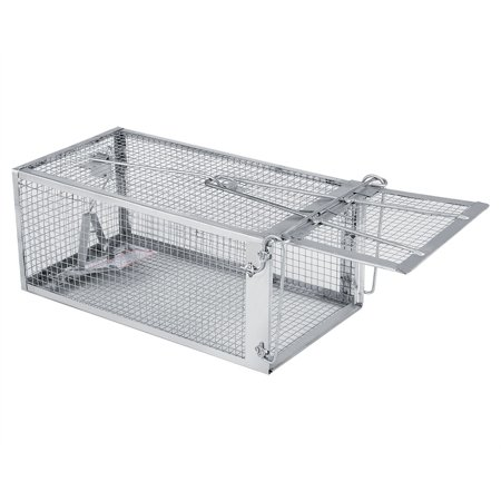 Greensen Mouse Trap,26.2*14*11.4cm Rat Trap Cage Small Live Animal Pest Rodent Mouse Control Bait Catch, Pest Trap Cage