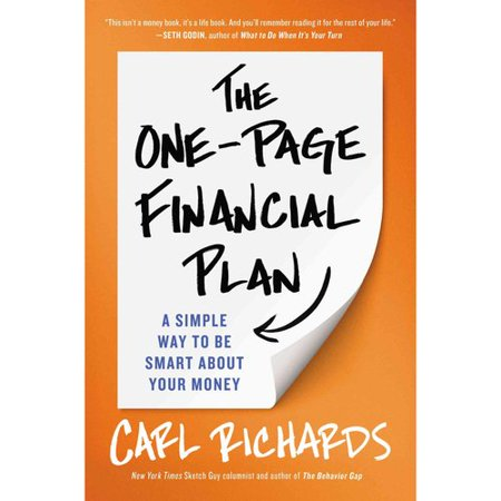 The One Page Financial Plan  A Simple Way To Be Smart About Your Money