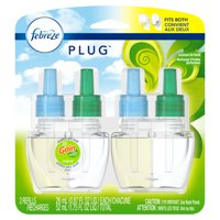 Febreze Plug Odor-Eliminating Air Freshener Refill, Gain Scent, 2 Ct