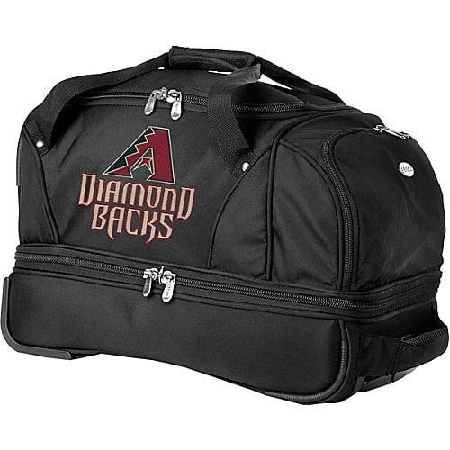 "Denco Sports Luggage MLB 22"" Drop Bottom Wheeled Duffel Bag"