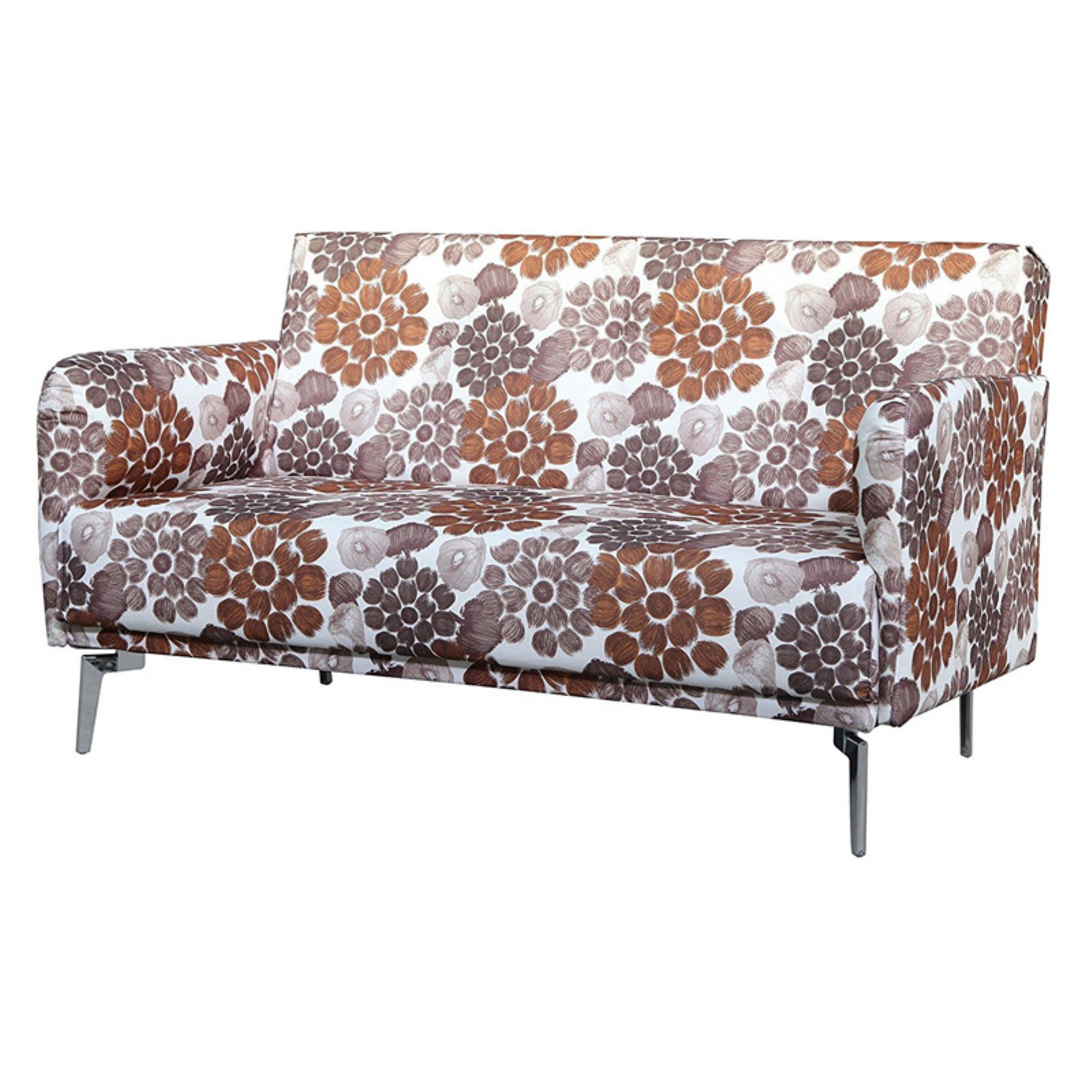 U.S. Pride Furniture Emma Flower Print Loveseat