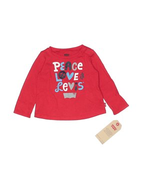 Pre-Owned Levi's Boy's Size 9 Mo Long Sleeve T-Shirt