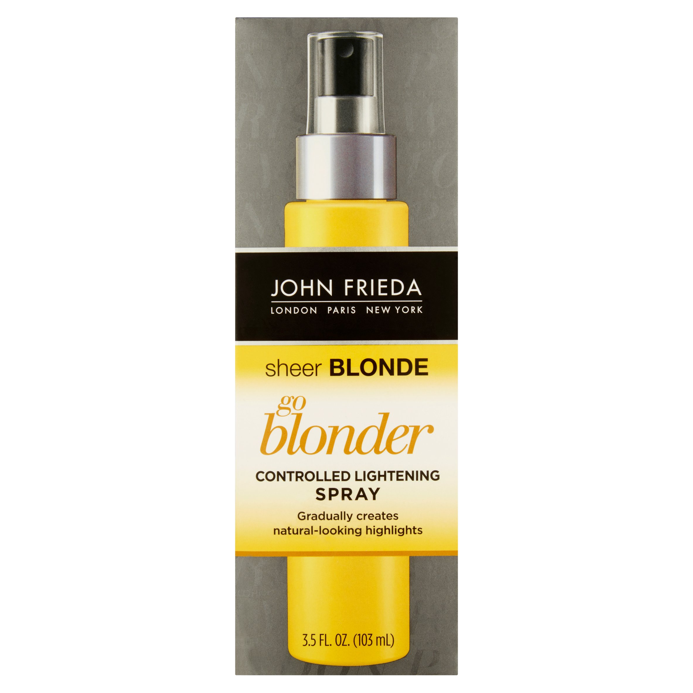 John Frieda Sheer Blonde Go Blonder Controlled Lightening Spray, 3.5 Fl Oz