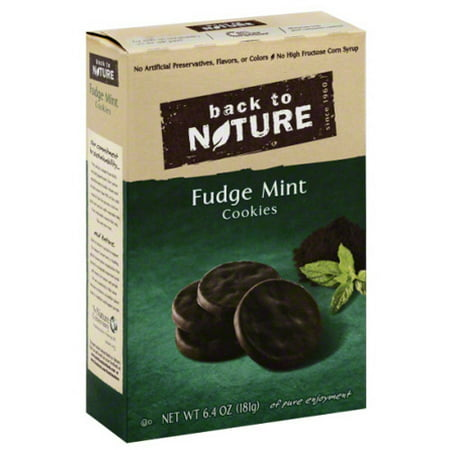 Back To Nature Fudge Mint Cookies Review