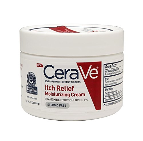 CeraVe Itch Relief Moisturizing Cream, 12 oz - 2 Pack