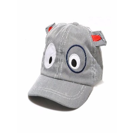 Kids Boys Girls Cute Cartoon Dog Beret Hat Sun Hat Baseball Cap BK - Kids Beret