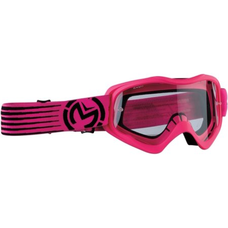 - Moose Racing Qualifier Youth MX Offroad Goggles Pink/Black