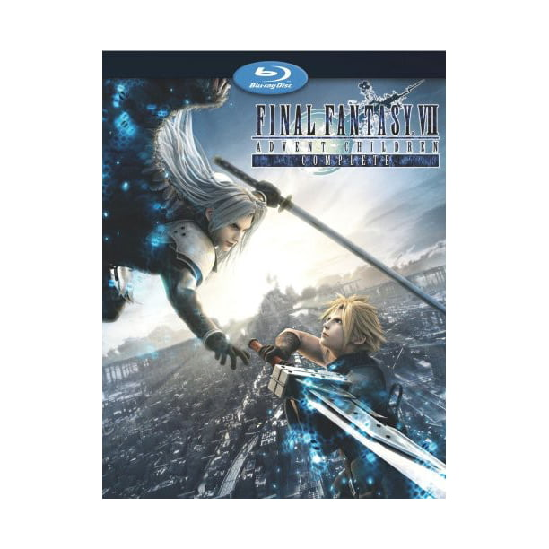 Final Fantasy Vii Advent Children Unrated Blu Ray Walmart