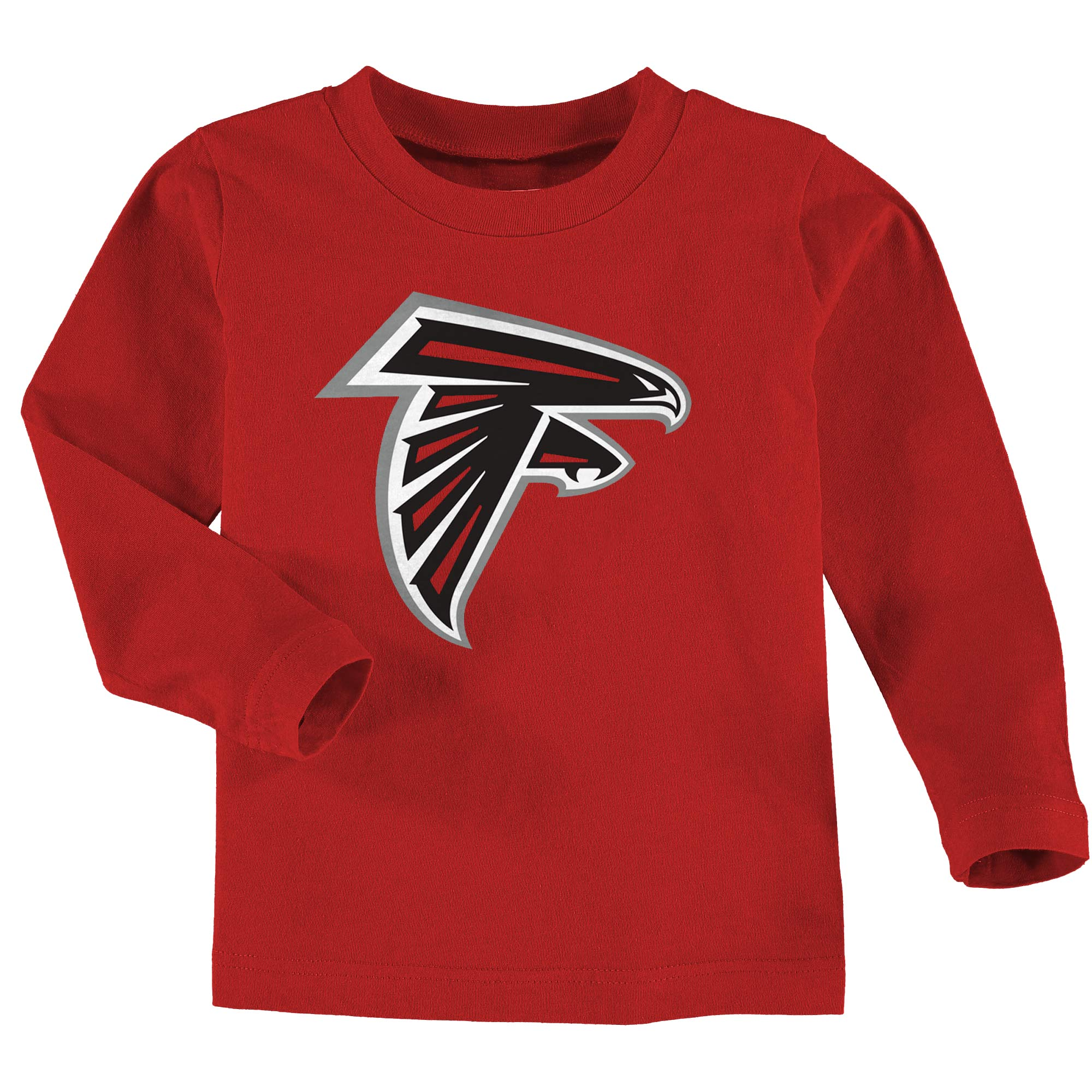 Atlanta Falcons Toddler Team Logo Long Sleeve T-Shirt - Red - 2T