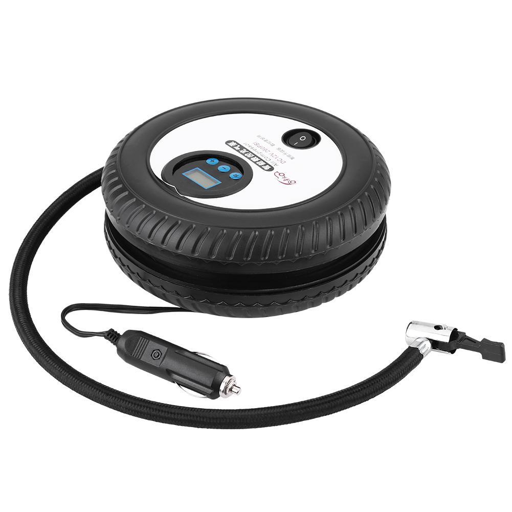 Lv. life 12V Digital Portable Car Tire Inflator Pump Air Compressor 260PSI for Car Ball Bike Air Boat, Air Compressor, 260PSI Tire Pump