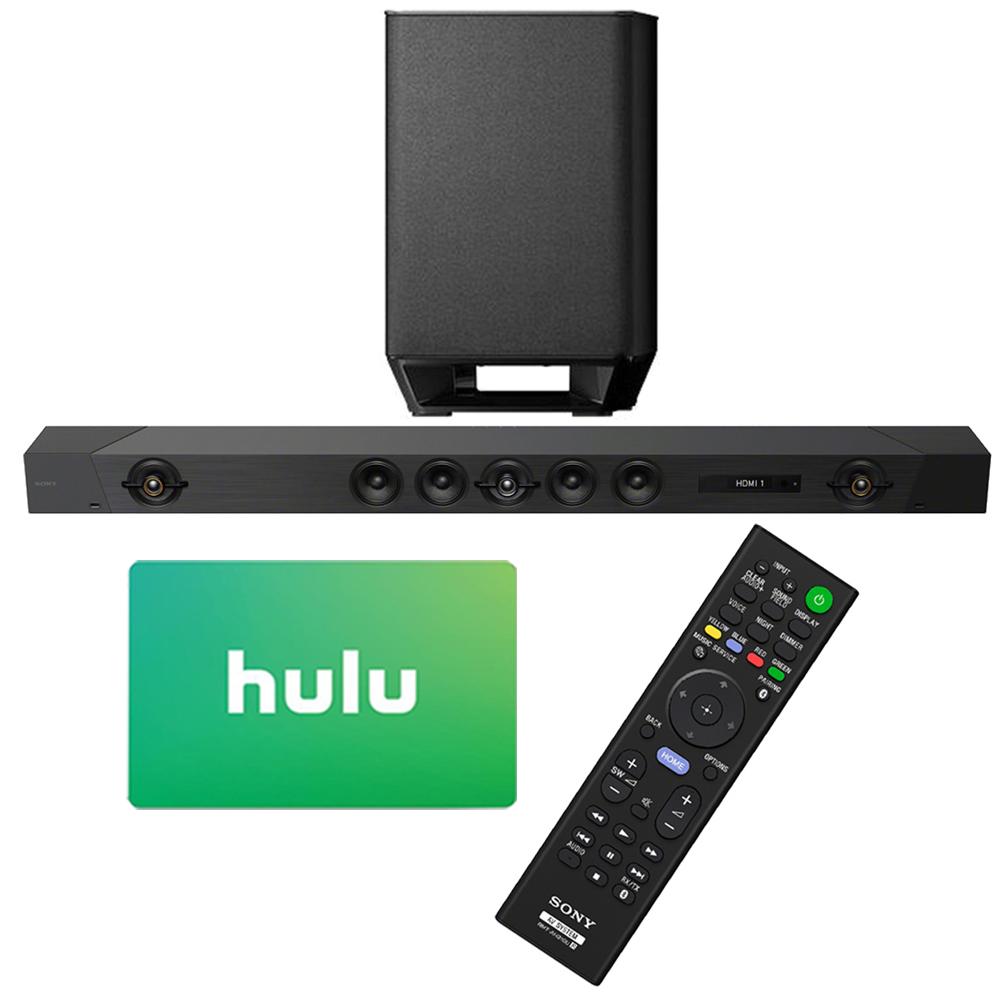 Sony HT-ST5000 7.1.2ch 800W Dolby Atmos Sound Bar with Hulu $25 Gift Card by Sony