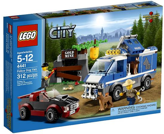 Lego City Police Dog Van by LEGO Systems, Inc.