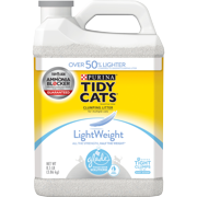 Purina Tidy Cats Light Weight, Low Dust, Clumping Cat Litter, LightWeight Glade Clear Springs Multi Cat Litter (Multiple Sizes)