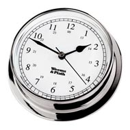 Weems and Plath Endurance 85 Chrome Quartz Clock
