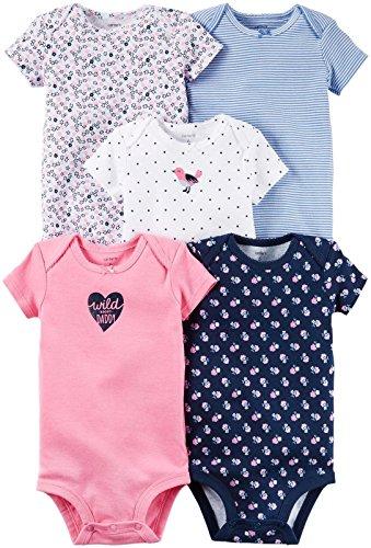 Carters Baby Girls Multi-pk Bodysuits 126g330